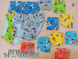 Infant Brief (Set of 12)