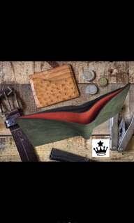 Gamuza leather wallet