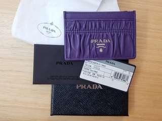 全新 Prada cardholder 100%正貨