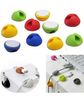 [PO] 10Pc Cable Organiser
