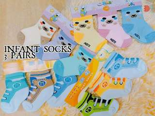 Infant Socks (Set of 3)