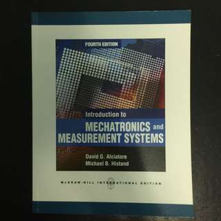 Introduction to Mechatronics and Measurement Systems Textbook