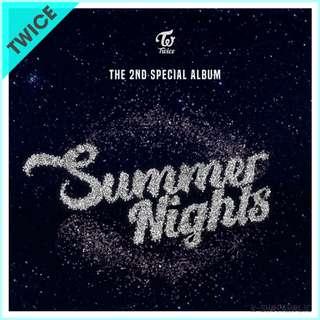 TWICE - 2nd Special Album ' SUMMER NIGHTS '