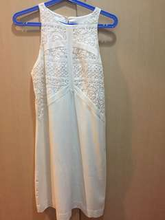 Promod white dress