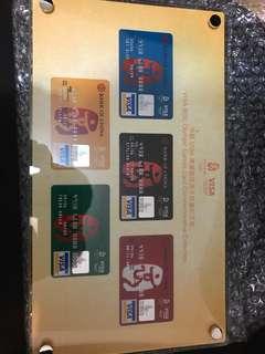 中銀Visa奧運版信用卡紀念珍藏版