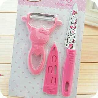 Hello Kitty Peeler Set