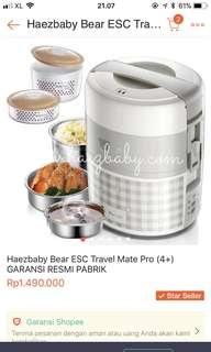 Haez baby slow cooker steamer