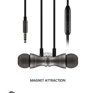 EsoGoal Wired Earphones (dark grey)