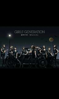 GIRLS' GENERATION Mr. Taxi Run Devil Run Japanese Single Album with 2 free SNSD POSTERS