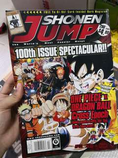 Shonen Jump 100th issue spectacular special