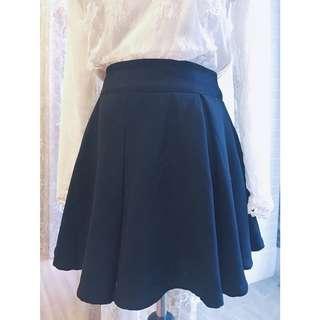 🚚 Pazzo 黑色傘狀褲裙
