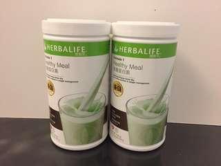 康寶萊營養蛋白素薄荷朱古力味(550g)Herbalife Protein Drink Mix (Mint chocolate)