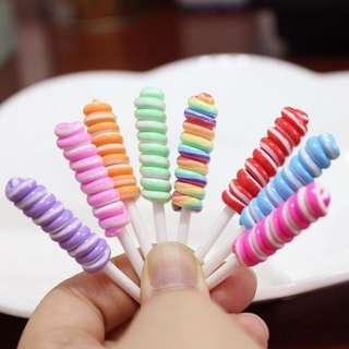 Lollipop charm by Slimedino_