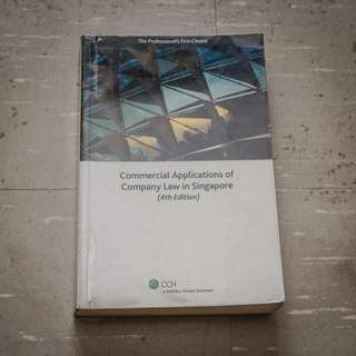 🚚 Commercial Applications of Company Law in Singapore (4th Edition) Textbook AC2302