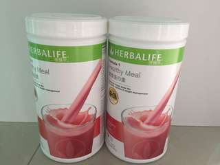 康寶萊營養蛋白素野草莓味(550g)Herbalife protein drink mix(Wild Berry)