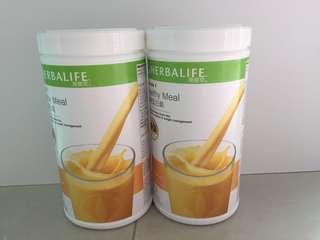 康寶萊營養蛋白素芒果味(550g)Herbalife Protein Drink Mix (Fruity mango)