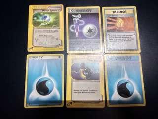 Pokemon Cards (Energy/Trainer)