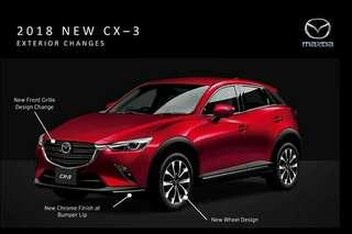 Mazda CX3 2.0L CBU