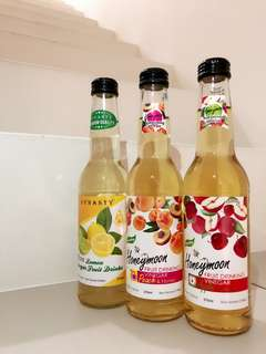 Vinegar Fruit Drinks
