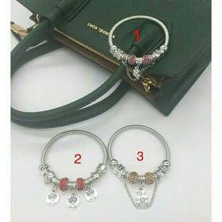 Pandora Inspired Bracelet (Silver)