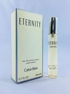 Eternity by Calvin Klein for Women - 20ml - Travel Size