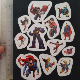 C5A DC Comic Superman Sticker Stickers