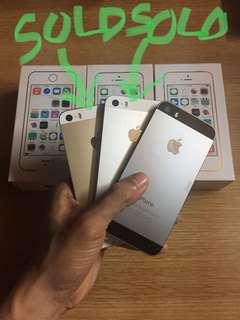 iPhone 5S Black/Gray 16GB GPP LTE