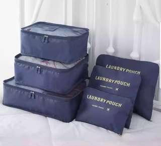 旅行收納袋一套6個