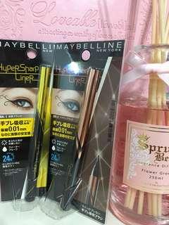🚚 Maybelline 媚比琳超激細抗暈眼線液 抗手震版(全新正品)