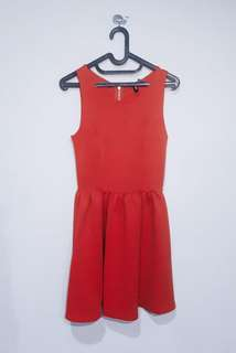 Red dress H&M