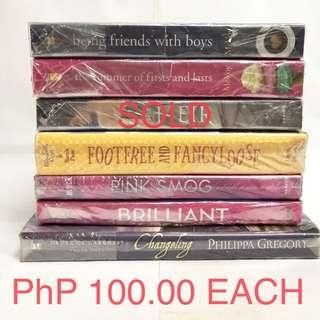 Assorted YA Books
