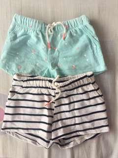 Short Pants 2 pack