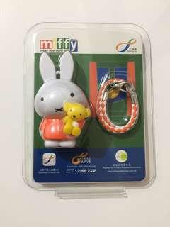 Miffy 3D八達通配飾-經典橙裙仔版(成人)