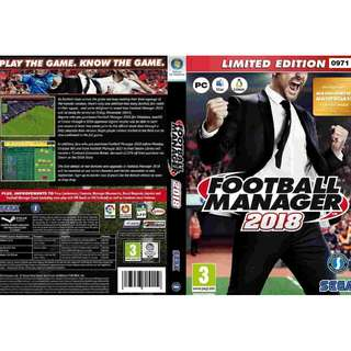 (PC) Football Manager 2018