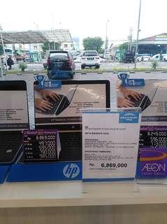 Laptop hp i3 bs di kredit
