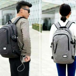 JK: New Anti-Theft Backpack