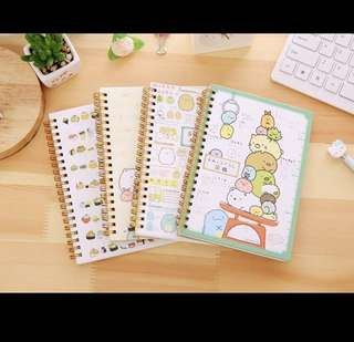 Sumikko gurashi ring notebook