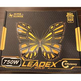 振華 LEADEX Gold 750W 金牌 全模組 終生保固 鍍銅