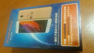 全新global phone(附手機殼)內置wifi旦功能,連5GB環球數據+24個月TVB SUPER App,行貨有單