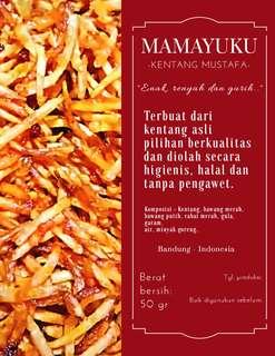 MAMAYUKU KENTANG MUSTAFA (50gr)