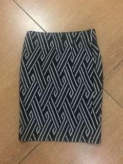 H&M printed skirt