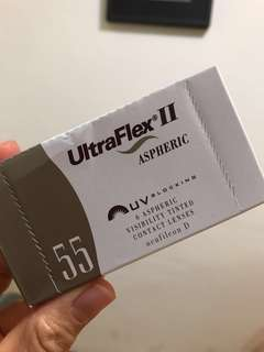 🚚 Coopervision UltraFlex II Contact Lenses Bi-weekly -1.50 degrees 酷柏 奧克拉雙週拋軟式隱形眼鏡