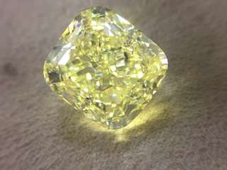 Diamond Fancy Yellow