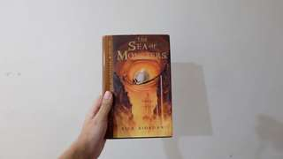 Hard bound percy jackson sea of monsters