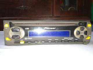 Pioneer super tuner cd player
