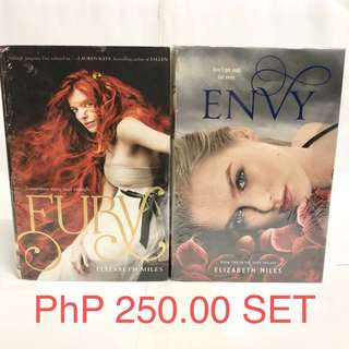 YA Books (Fury Series)