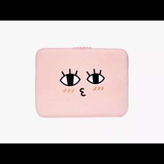 Kakao peach laptop cover sleeve
