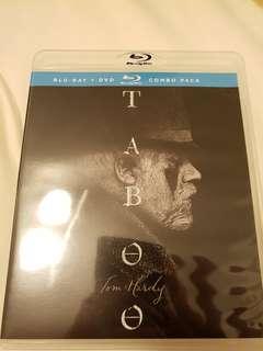 Taboo season 1 blu-ray series
