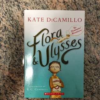 🚚 Flora & Ulysses by Kate Dicamillo