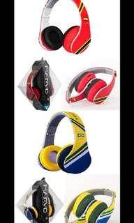 Marvo 世界杯主題耳機🎧